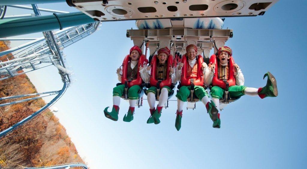 Busch Gardens Christmas Town Williamsburg Vacations